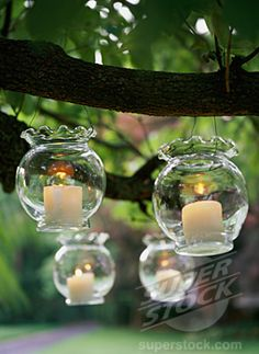 vases into lanterns. What a great way to use all of those flower vases that are sitting in my cabinet.