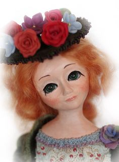 Art OOAK doll Augustine by ArtDollsOOAK on Etsy