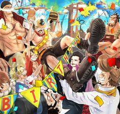 One Piece, Whitebeard Pirates