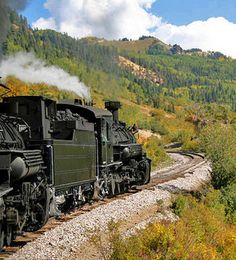 Amazing excursion trains that run through scenic and historic areas in #Colorado      .....rh