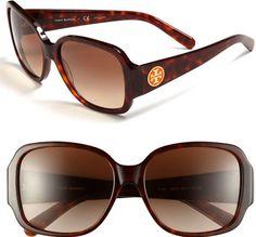 #Tory Burch #Eyewear #Tory #Burch #'Glam' #58mm #Sunglasses Tory Burch 'Glam' 58mm Sunglasses http://www.snaproduct.com/product.aspx?PID=5126191