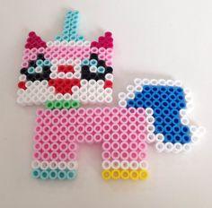 UniKitty (Lego Movie) Perler Beads by NerdChristmas