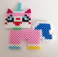 UniKitty (Lego Movie) Perler Beads by NerdChristmas