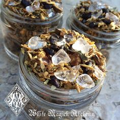 Shaman:  #Shaman's Crystal Incense Potion . Sacred Wood, by White Magick Alchemy.