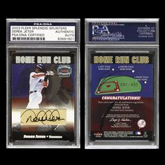 Derek Jeter 2003 Fleer Signed Autographed PSA DNA Auto Yankees 83691601 | eBay #derekjeter #jeter #2003 #fleer #signedcard #autograph #yankees