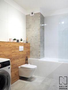 Nowoczesna łazienka ocieplona drewnem Alcove, Toilet, Bathtub, Bathroom, Home Decor, House, Standing Bath, Washroom, Flush Toilet