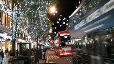 Lights on Bond and Oxford St