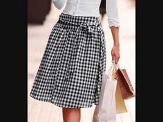 La moda de faldas, diseños sensacionales para lucir elegantes!
