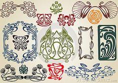 iona 39 s closet still in circulation art nouveau typographic ornaments c 39 est art nouveau. Black Bedroom Furniture Sets. Home Design Ideas