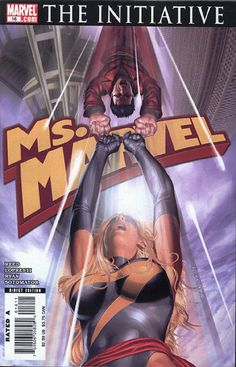 Ms. Marvel Vol. 2 # 16 by Greg Horn