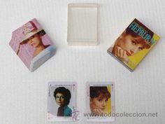 Baraja de Cartas Audrey Hepburn 54 cartas.