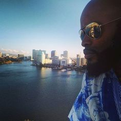 Out here celebrating @aquariusjohns bday thinking... what a beautiful day and a great time to be Black. I hope you caught the live stream but if not you can re-watch it or watch us go live on FB later tonight at the concert   #oakland #lakemerritt #thatown #thetown #sunny #california #lake #blackman #blackmen #brotha @jenniferjohnsmusic... Follow us on iG: http://ift.tt/1XfKZZa