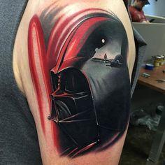 Darth Vader Tattoo By Nick Peirce... - Tattoo Designs