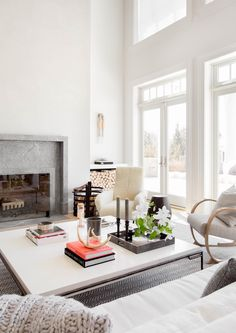 Contemporary Hamptons Living Room by Tamara Magel | Photo by Rikki Snyder