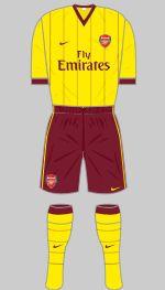 2010-2011 Arsenal Kit