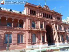 la Casa Rosada Argentina