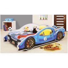 Patut in forma de masina MiniMax - Plastiko - Albastru pentru copii Toddler Bed, Furniture, Home Decor, Products, Kids Bed Design, Beds For Girls, Autos, Home Decoration, Color Blue
