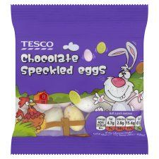 Tesco Chocolate Speckled Eggs 45G - Groceries - Tesco Groceries €1.00