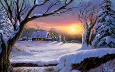 belle image d'hiver