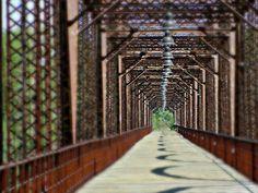 walking bridge by Melanie Davis - canadian,tx Click on the image to enlarge.