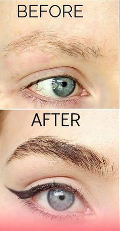 Grow long thick eyelashes and eyebrows in just 3 days with this old grandma remedy using completely natural ingredients. Most people don't know this but growing your eyelashes and eyebrows can be done easily at home without laser implantation! Sparse Eyebrows, Tweezing Eyebrows, Thin Eyebrows, Threading Eyebrows, Perfect Eyebrows, Eye Brows, Natural Eyebrows, Natural Makeup, Natural Hair