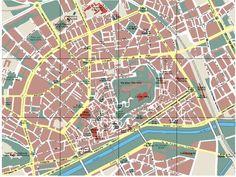 Mapa de la ciudad de Lleida