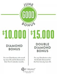 DEBT FREE IS THE NEW SEXY!!!!! the 10,000 bonus has been extended until the end of July  www.itworksitworks.myitworks.com
