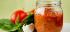 Tomatsaus | Til pizza og pasta | Oppskrift p� Lises blogg