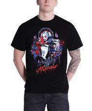 Suicide Squad T Shirt Harley Quinn   DC Comics Mens Black