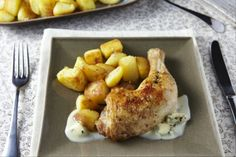 Corsica-Shop: Recipe Chicken with Honey Stuffed and Roquefort Cream .