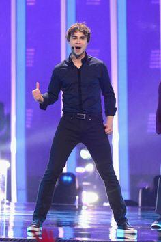 Alexander Rybak performs at Eurovision Song Contest 2018 - Final in Lisbon, Portugal 180512 Alexander Ryback, Eurovision Songs, Dream Guy, Singer, Lisbon Portugal, Celebrities, Idol, News, Celebs