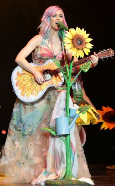Peace, Love and Perry from Katy Perry's Concert Costumes | E! Online