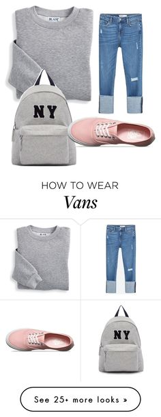 """Untitled #26"" by monicka16 on Polyvore featuring Blair, Joshua's, Zara and Vans"
