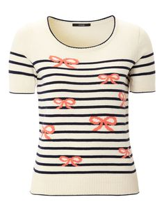 Bow and Stripe Jumper | Women | George at ASDA £14.00
