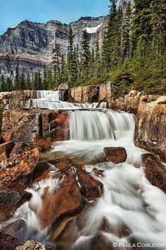 Giant Steps Waterfall by *La-Vita-a-Bella on deviantART