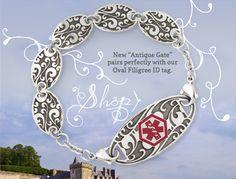Medical Alert Jewelry, Medical ID bracelets for Women | Lauren's Hope