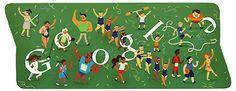 #olympics2012 closing ceremony #googledoodle