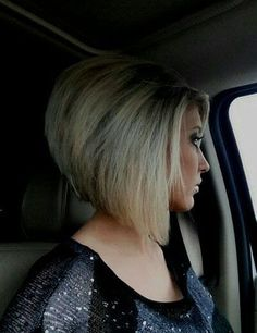Stacked Angled Hair