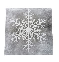 Frost Rose Napkin