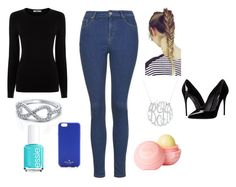 """""""Untitled #37"""" by sselmanagic on Polyvore featuring Oasis, Topshop, Kate Spade, Essie, dELiA*s and Dolce&Gabbana"""