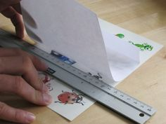 Make Sure There Are No Air Bubbles When Placing The Adhesive On Tattoo Paper
