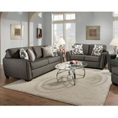 Gray Sofa From Levin Furniture