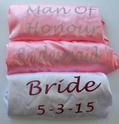 Robes Personalized Bridesmaid robes bride robe Monogrammed white fast postage Pink Nude Blush mint Satin Robes Name Customized Robes. Bridal Party Robes, Wedding Gowns, Satin Dressing Gown, The Blushed Nudes, Bridesmaid Robes, Bride Gifts, Personalized Wedding, Trending Outfits, Handmade Gifts