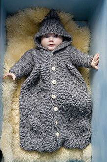 Baby Sleeping Bag pattern by Britta Wilfert