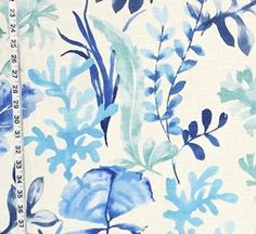 Coastal Living Style from Brick House Fabric: Novelty Fabric
