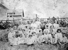 My Great Aunts First Grade Class in Renfew, Scotland