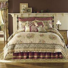 mauve bedding bedspreads   Antique Rose Full Comforter Set Bedding New 4 PC Mauve   eBay