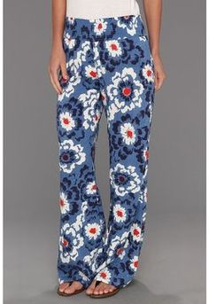 shopstyle.com: Quiksilver Wild Poppy Palazzo Beach Pant (Wild Poppy) - Apparel