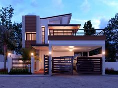 Modern home design double y house plans perth 2 story builders in wa contemporary style two story house built into the earth modern two bedroom house plans best of modern small house plans luxury simple modern house modern Two Storey House Plans, 2 Storey House Design, Duplex House Design, Duplex House Plans, Small House Design, Modern House Plans, Modern House Design, Modern Zen House, Modern Houses