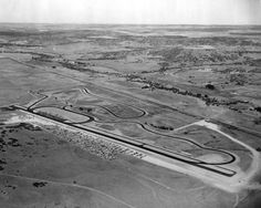 Continental Divide from the air in 1960
